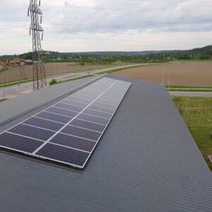 Aurinkosähköjärjestelmä 10.8kW Salo