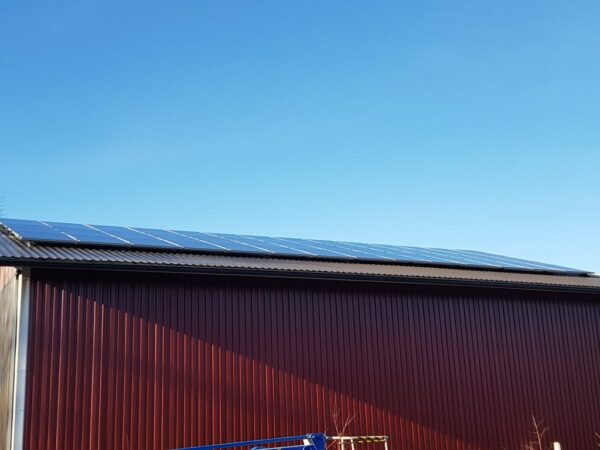 12KW-aurinkosähköjärjestelmä