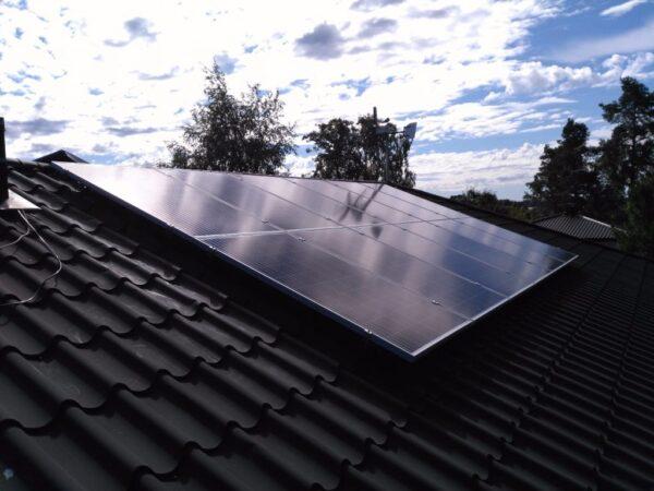 Aurinkosähköjärjestelmä 3.2kW Kemiö