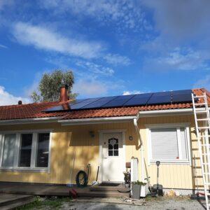 aurinkojärjestelmä Salo Märynummi 6kW