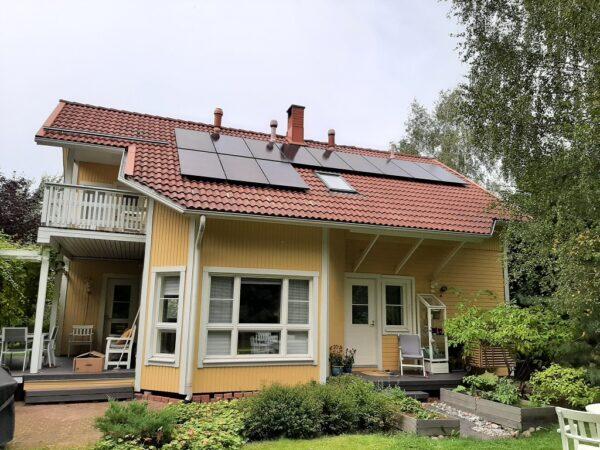 aurinkojärjestelmä Turku 5kW